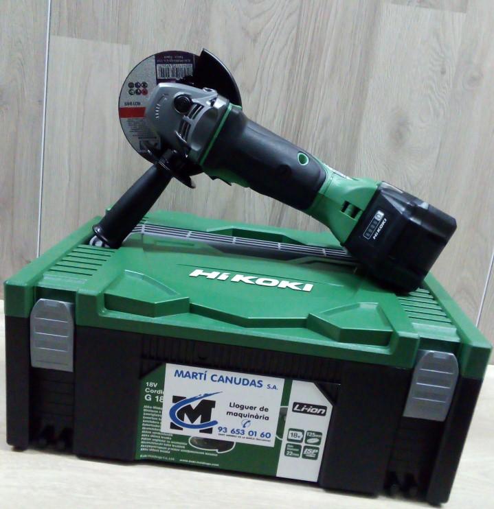 Amoladoras (radiales) a batería