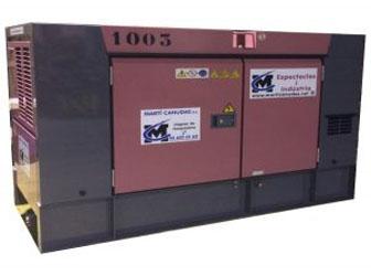 Generadors dièsel ultra silenciosos estacionaris
