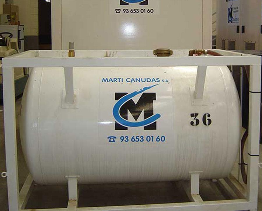 Depósitos de combustible auxiliares