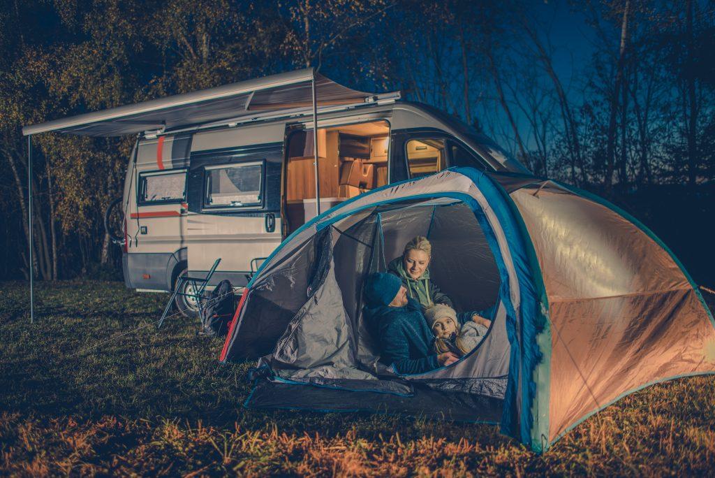 Alquilar maquinas para camping