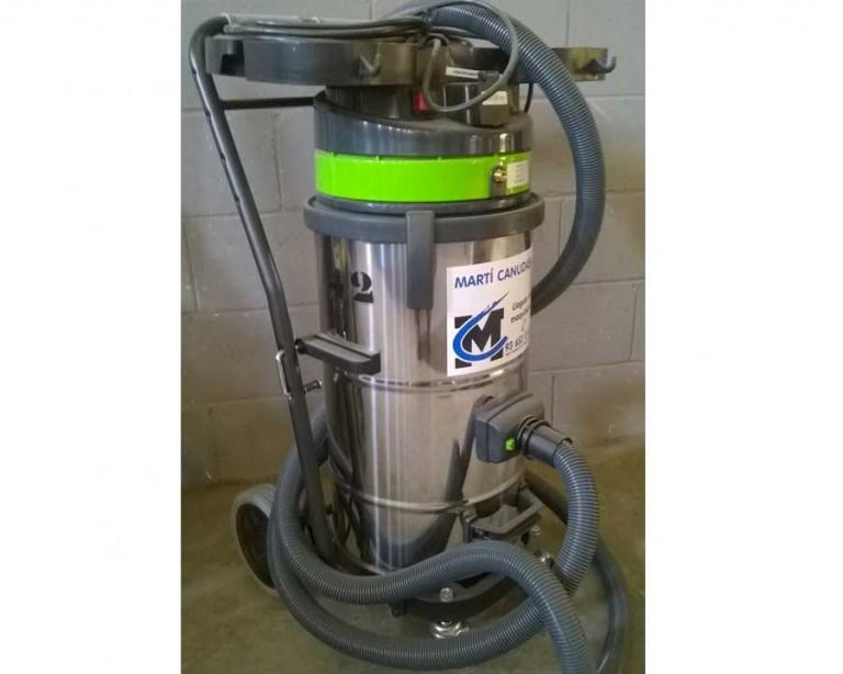 aspirador para polvo con vibrador