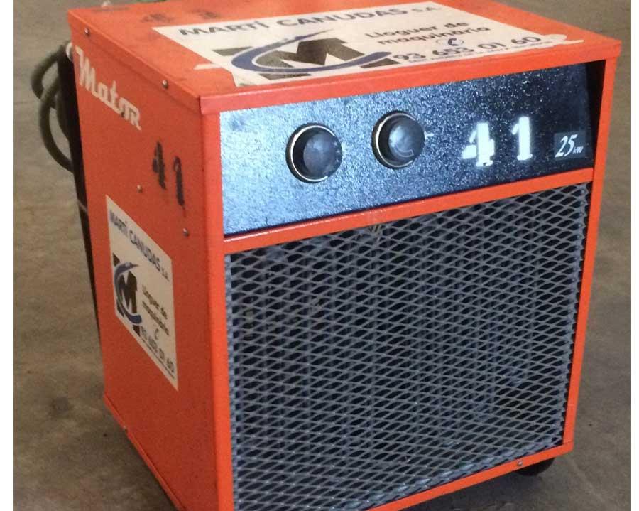 Calefactores eléctricos industriales