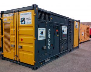 generador diesel silencioso contenedor