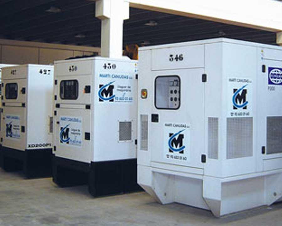 Generadores diésel silenciosos estacionarios