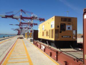 marti canudas - alquiler generador electrico silencioso- port barcelona