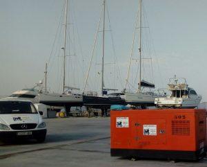 marti canudas alquiler maquinaria - generador port
