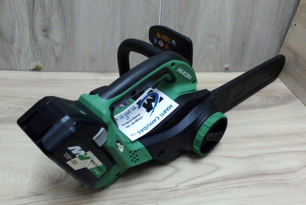 Nuevas herramientas a batería de jardinería Hikoki en alquiler