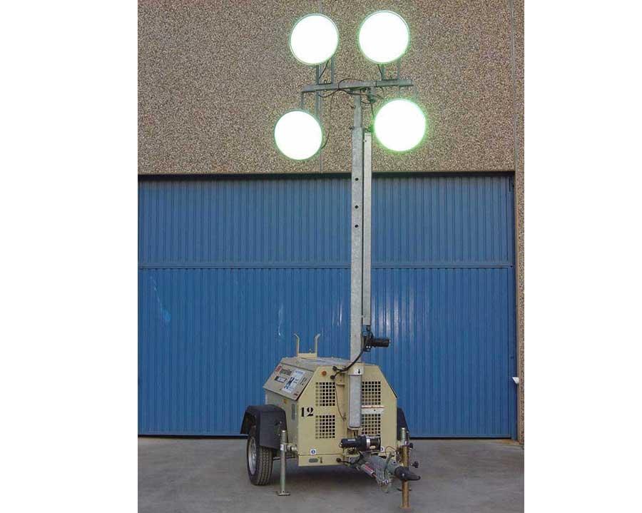 Torres de iluminación autónomas