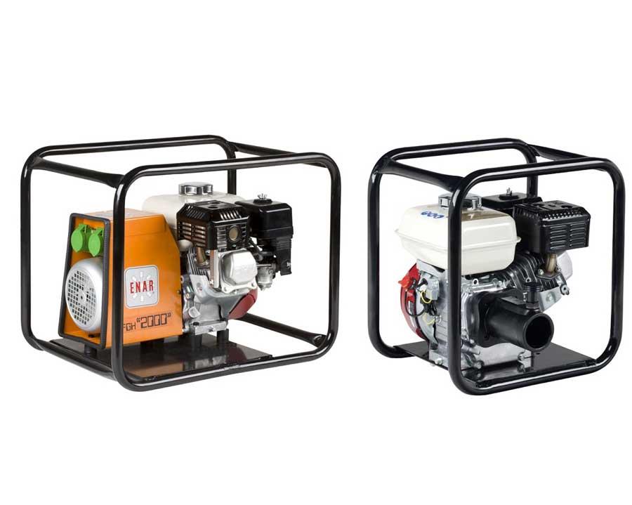 Vibradores y convertidores a gasolina